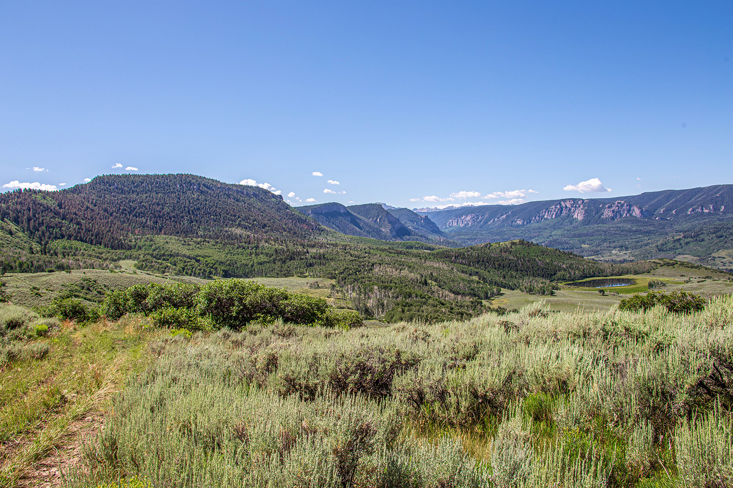 Blue Creek Mesa Ranch property
