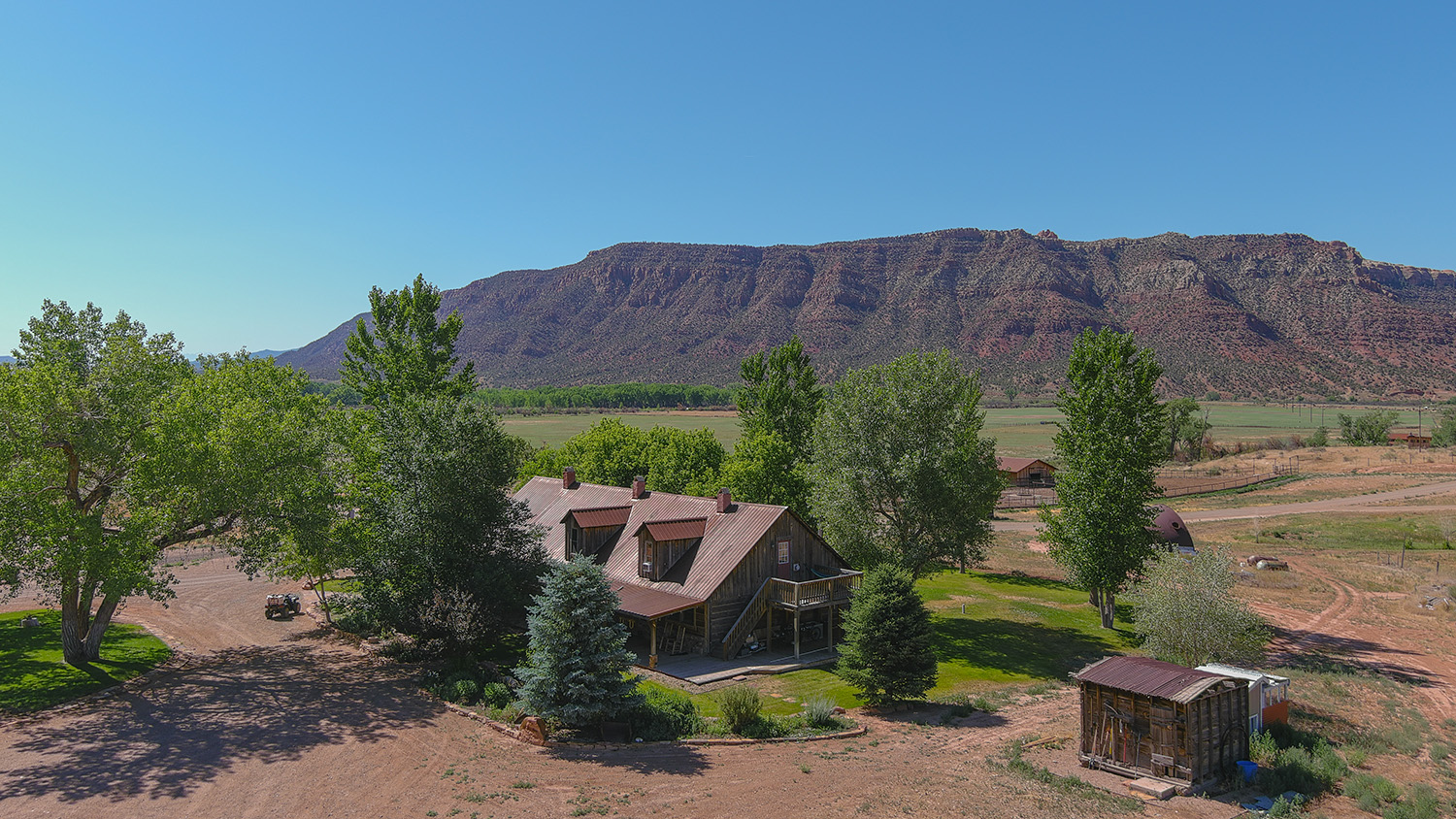house on red rocks ranch