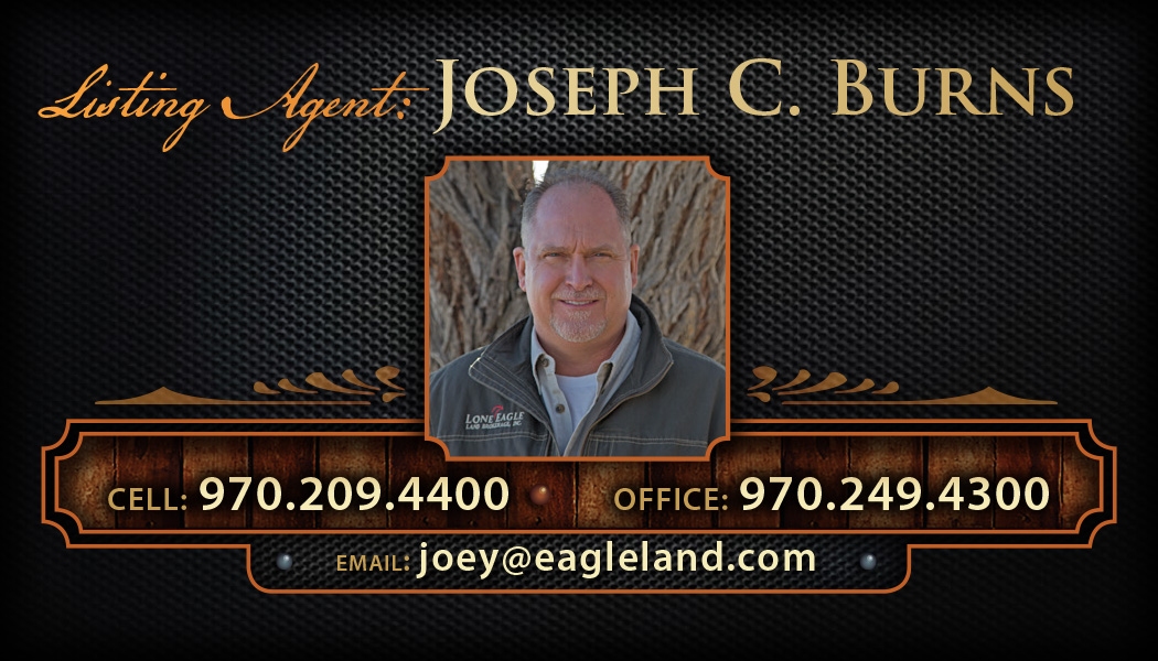 Joey Burns, Listing Agent at Eagle Land Land Brokerage