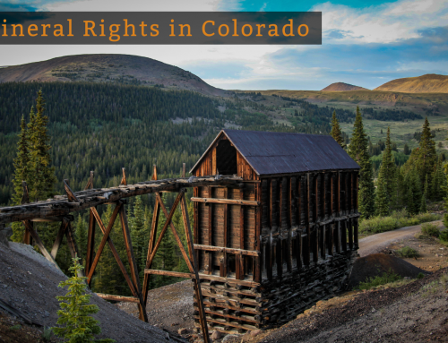 Mineral Rights in Colorado