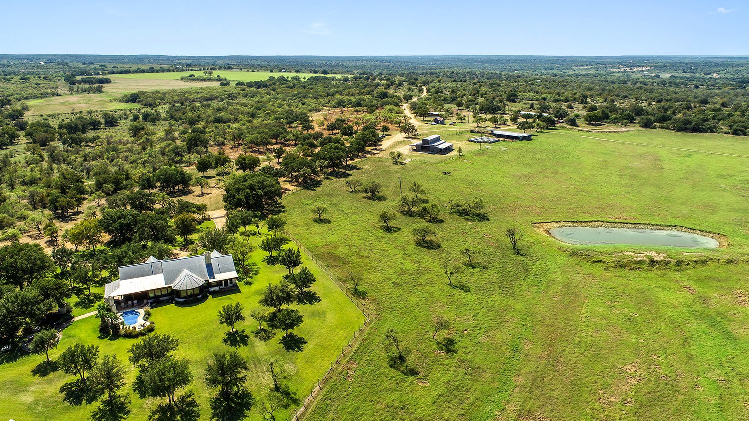 Aerial View of SRK Ranch