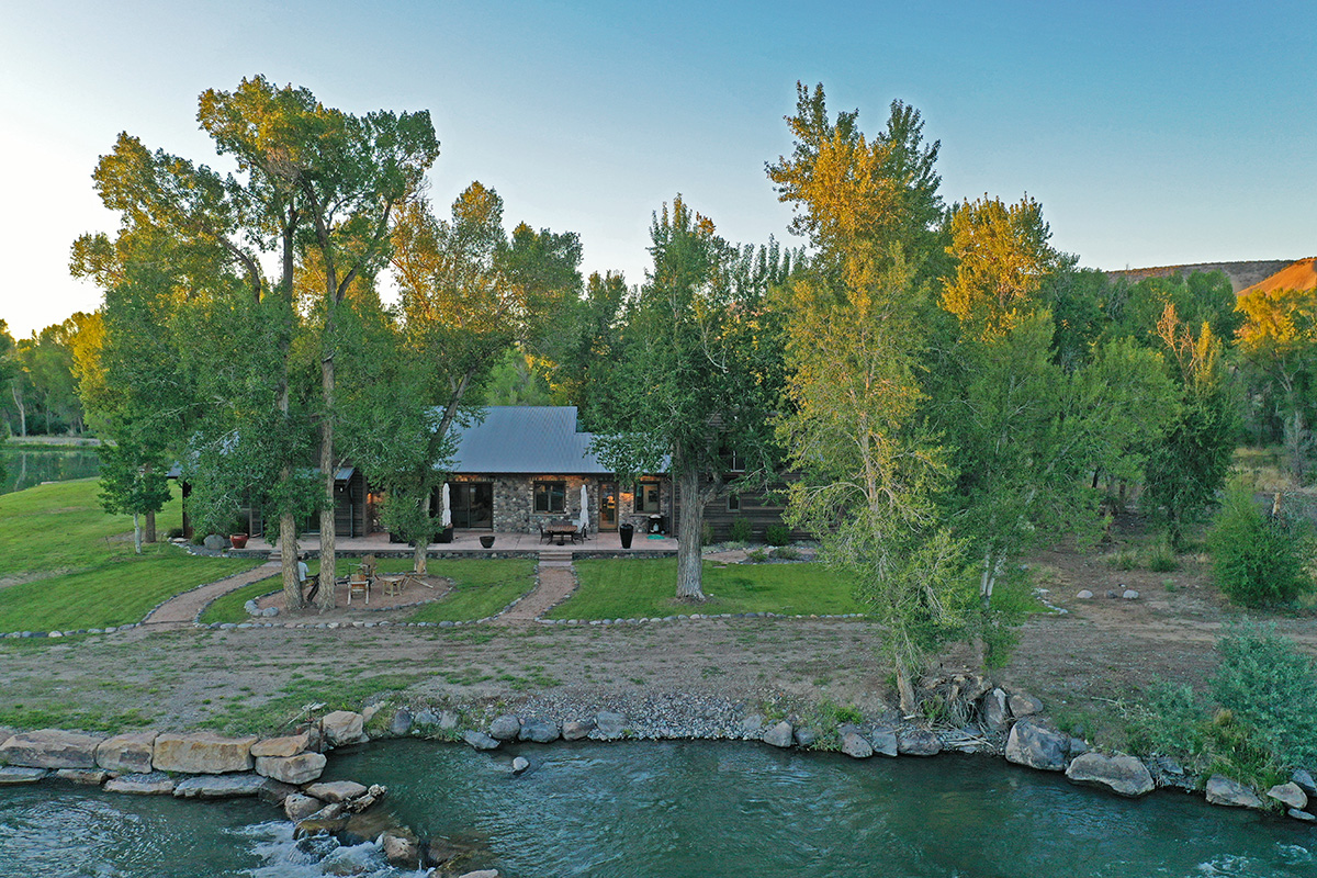 The Riverfront Estate ranch for sale in montrose, co